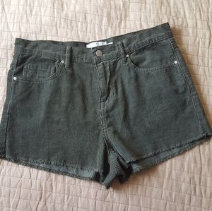 Kendall + Kylie Green Shorts